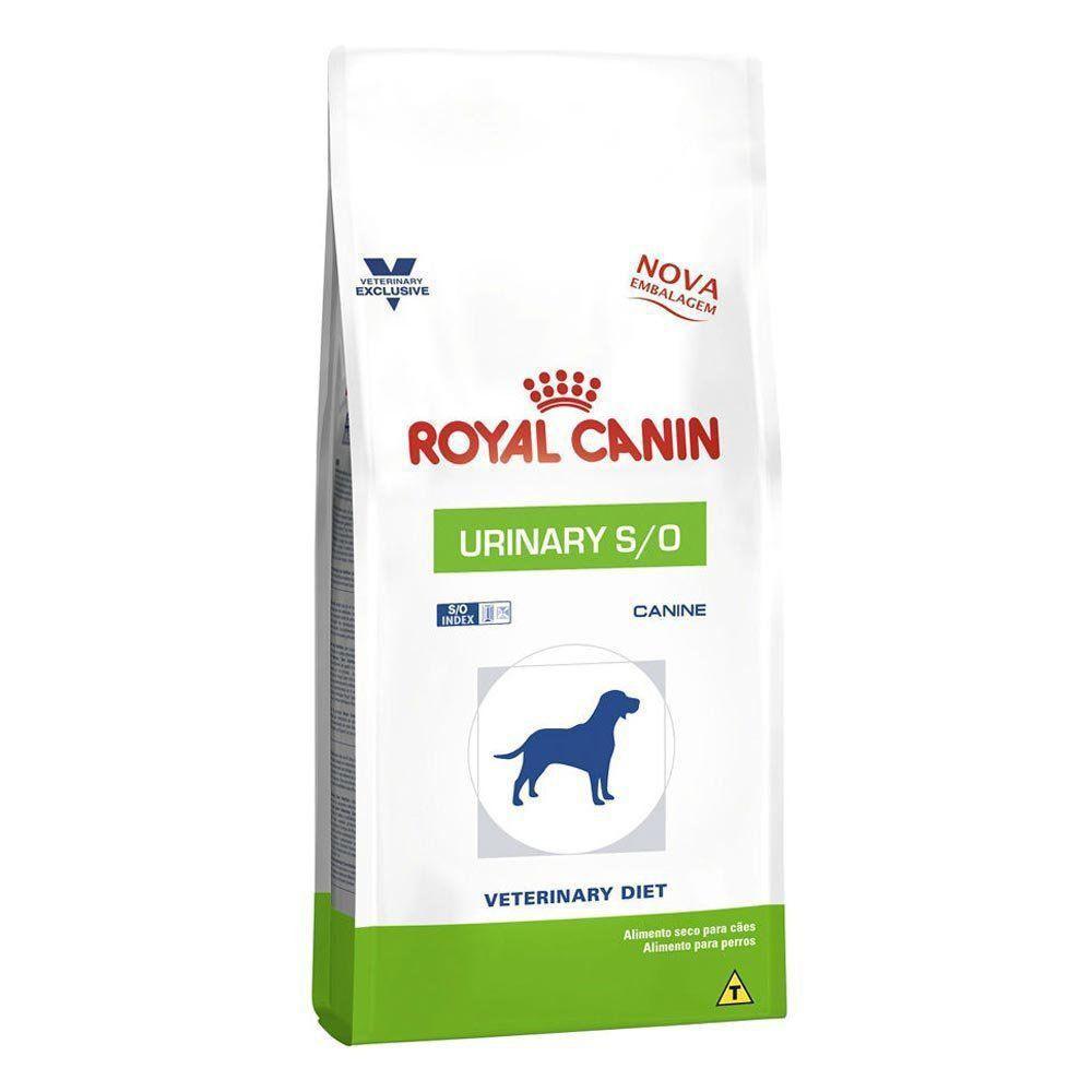 Ração Royal Canin Veterinary Diet Urinary S/O para Cães Adultos com Doenças Urinárias