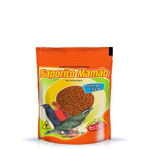 Racao Saporito Mamao 400 Grs