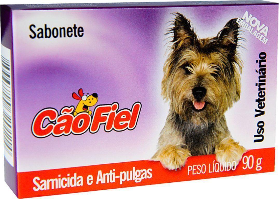 Sabonete Cão Fiel Sarnicida e Antipulgas - 90 g
