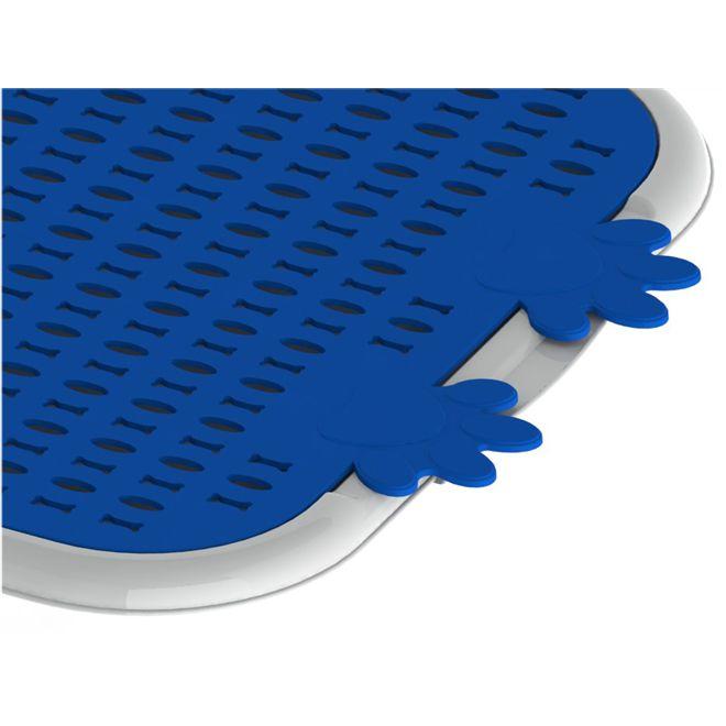 Sanitario Canino Christino Azul 63,5 X 43,5 Cm Embalagem com 5 unidades