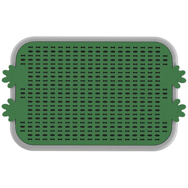 Sanitario Canino Christino Verde 63,5 X 43,5 Cm Embalagem com 5 unidades