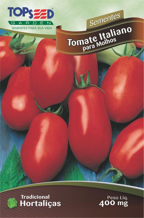 Semente 10 unidades Tomate Italiano P/Molho H160