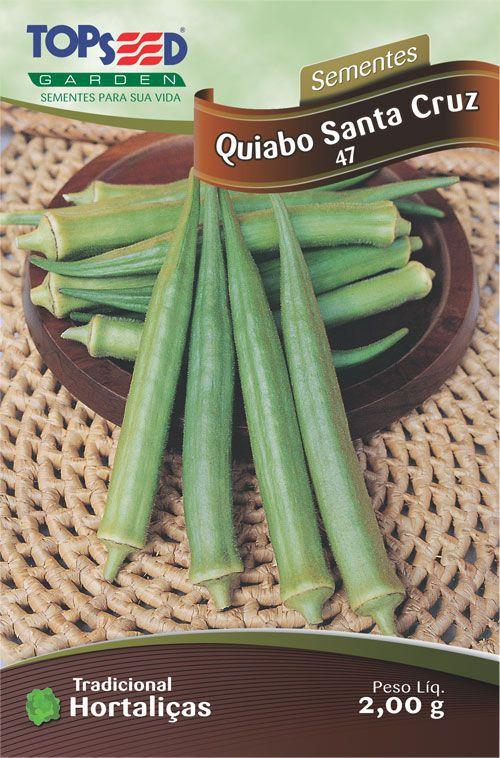 Semente Quiabo Santa Cruz 47 1 Kg