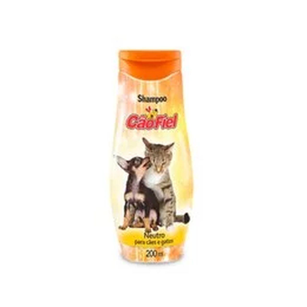 Shampoo Cão Fiel Neutro - 200 mL