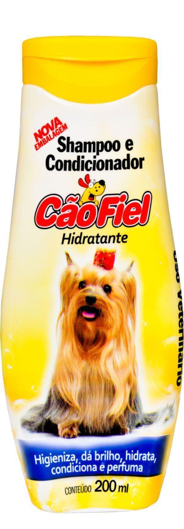 Shampoo e Condicionador Cão Fiel Hidratante - 200 mL