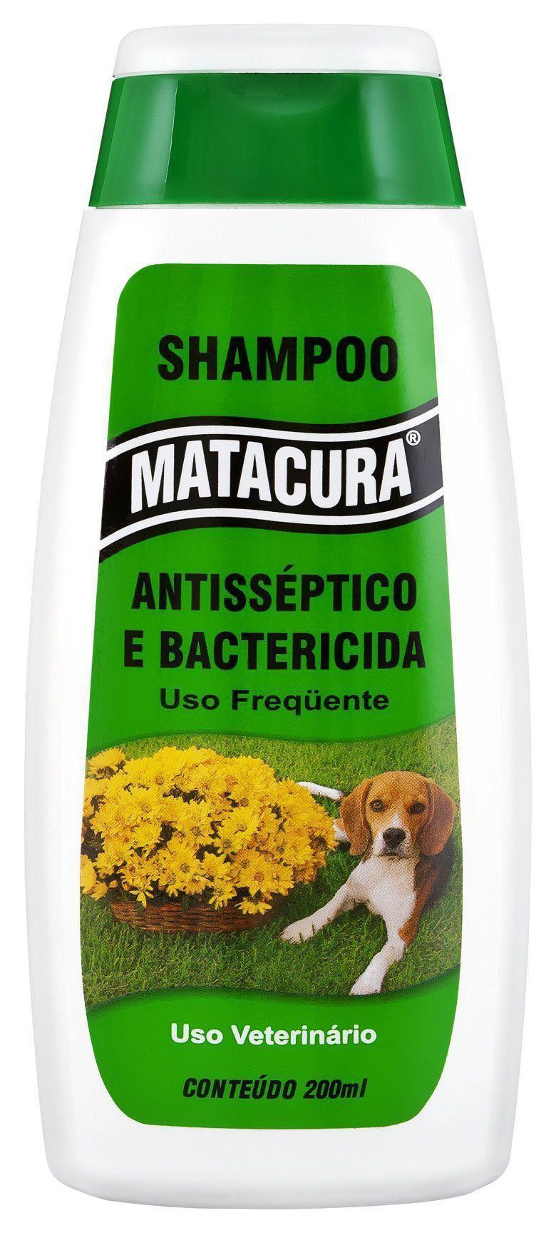 Shampoo Matacura Antisséptico e Bactericida - 200 mL