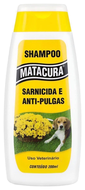 Shampoo Matacura Sarnicida e Antipulgas - 200 mL