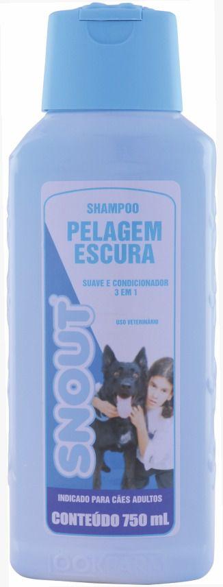 Shampoo Snout Pelagem Escura 750 Ml