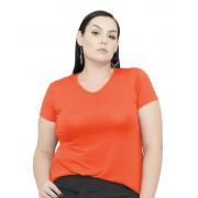 Blusa Bata T-Shirt Gola V