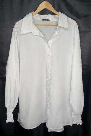 Maxi Camisa Social Tricoline Misto