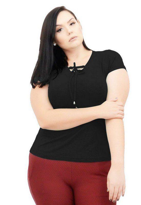 Blusa Bata Com Transpasse No Decote