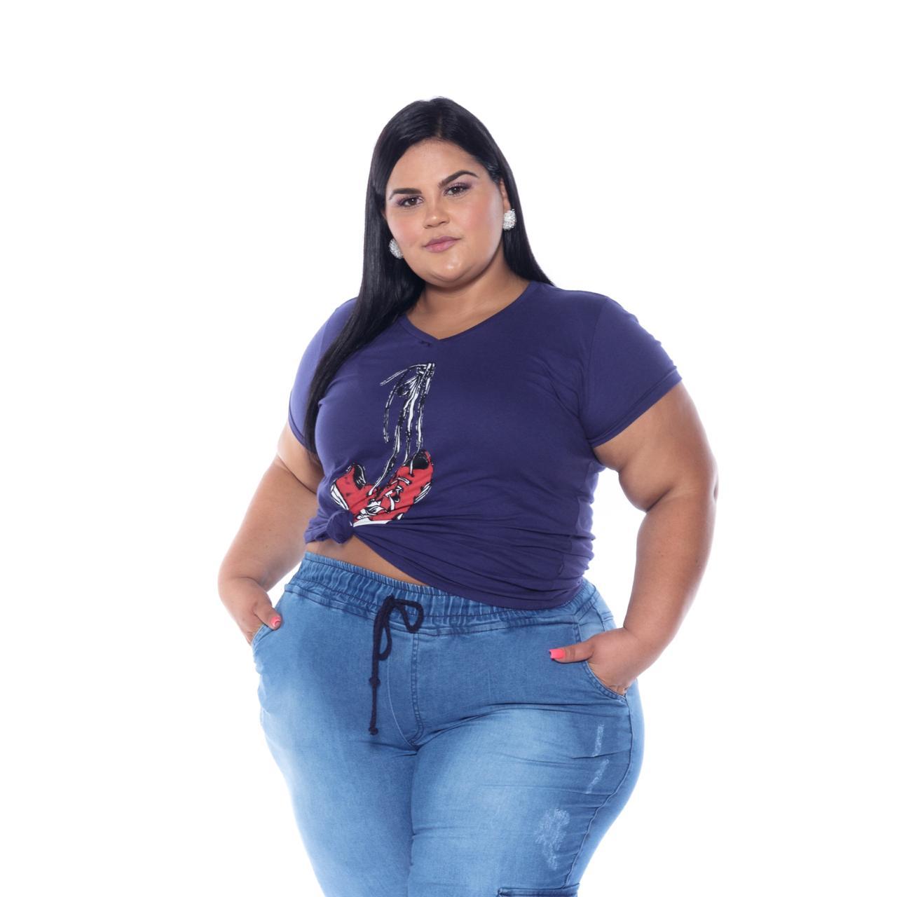 Calça Jeans Jogger Cargo Lavagem Clara com Puídos