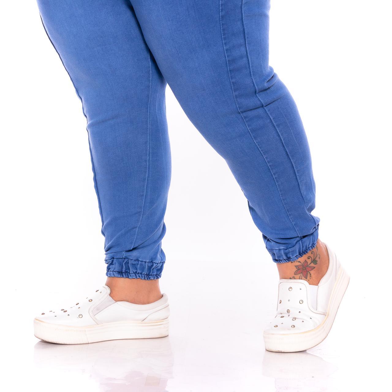 Calça Jeans Jogger Jeans Claro