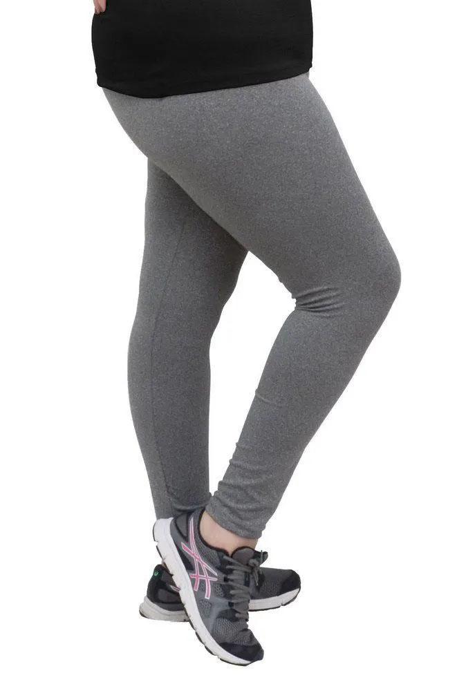 Calça Legging Cinza De Suplex