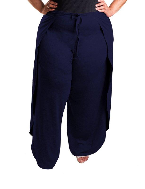 Calça Pantalona Envelope - Liquidação