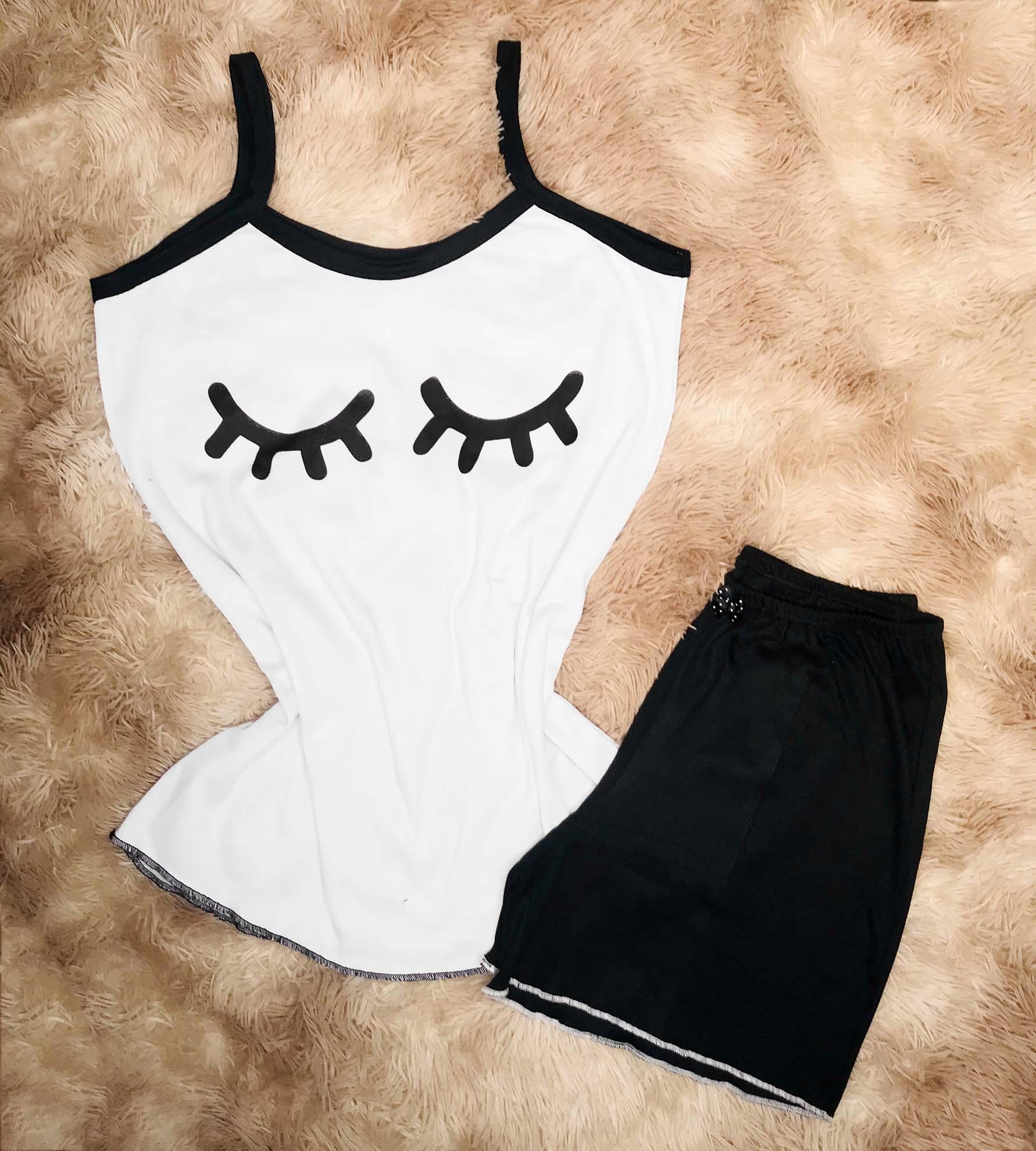 Conjunto Pijama Olhinhos