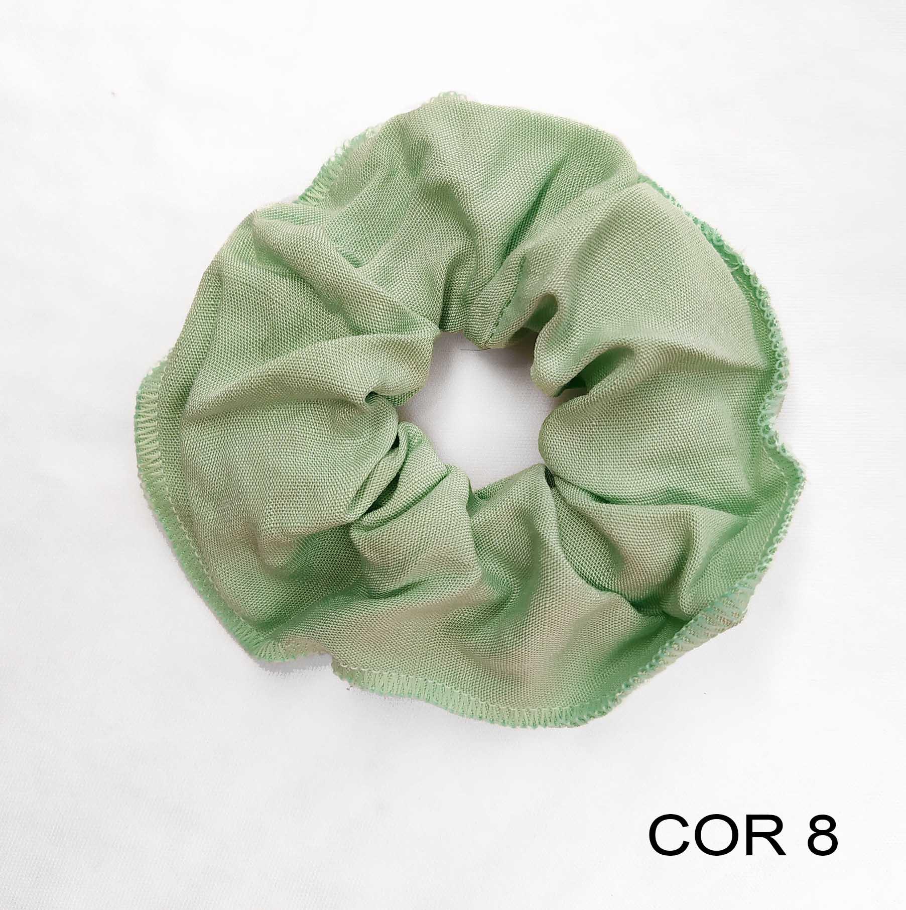 Kit 15 Scrunchies Sortidos