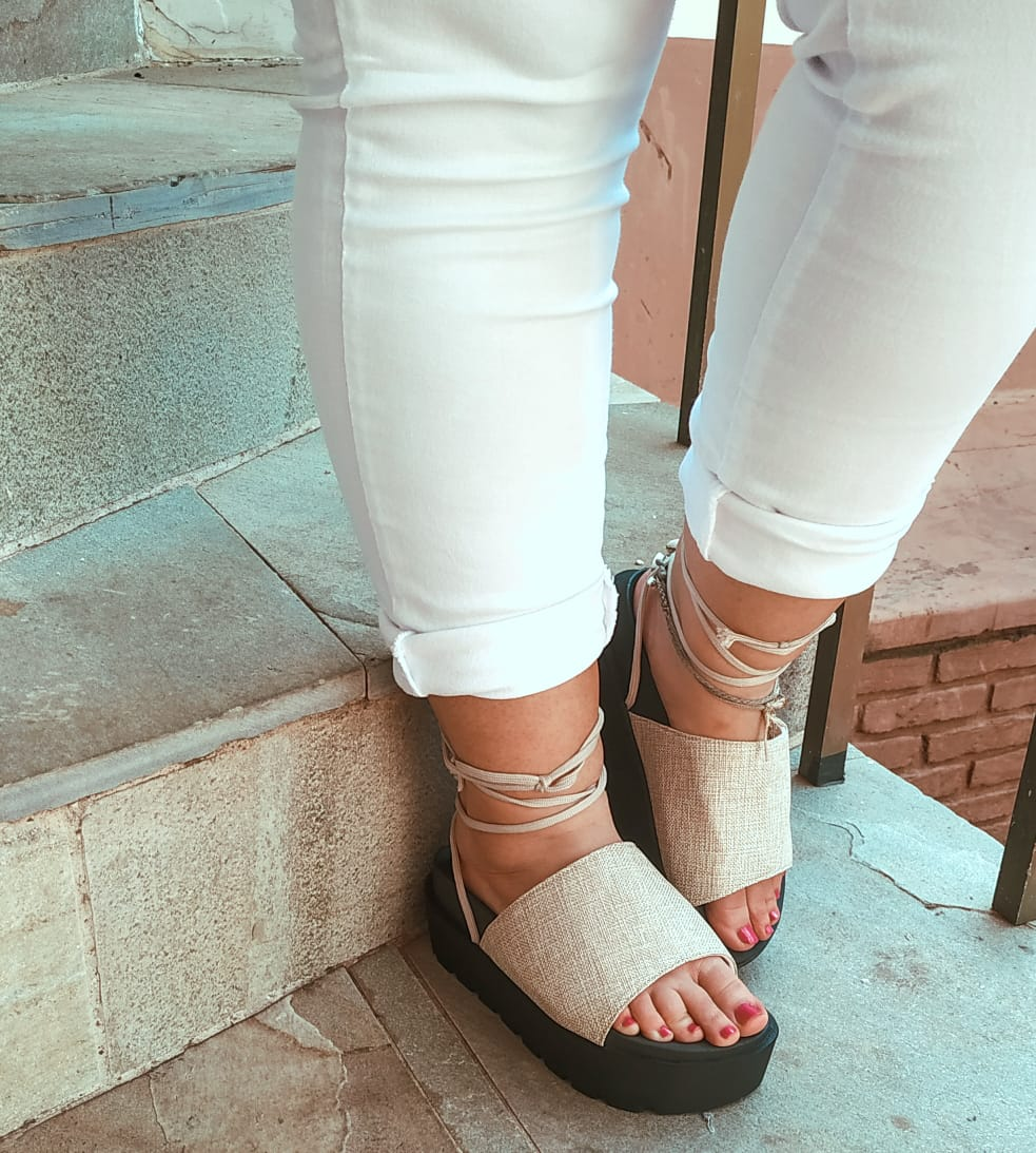 Sandália Flatform Birken