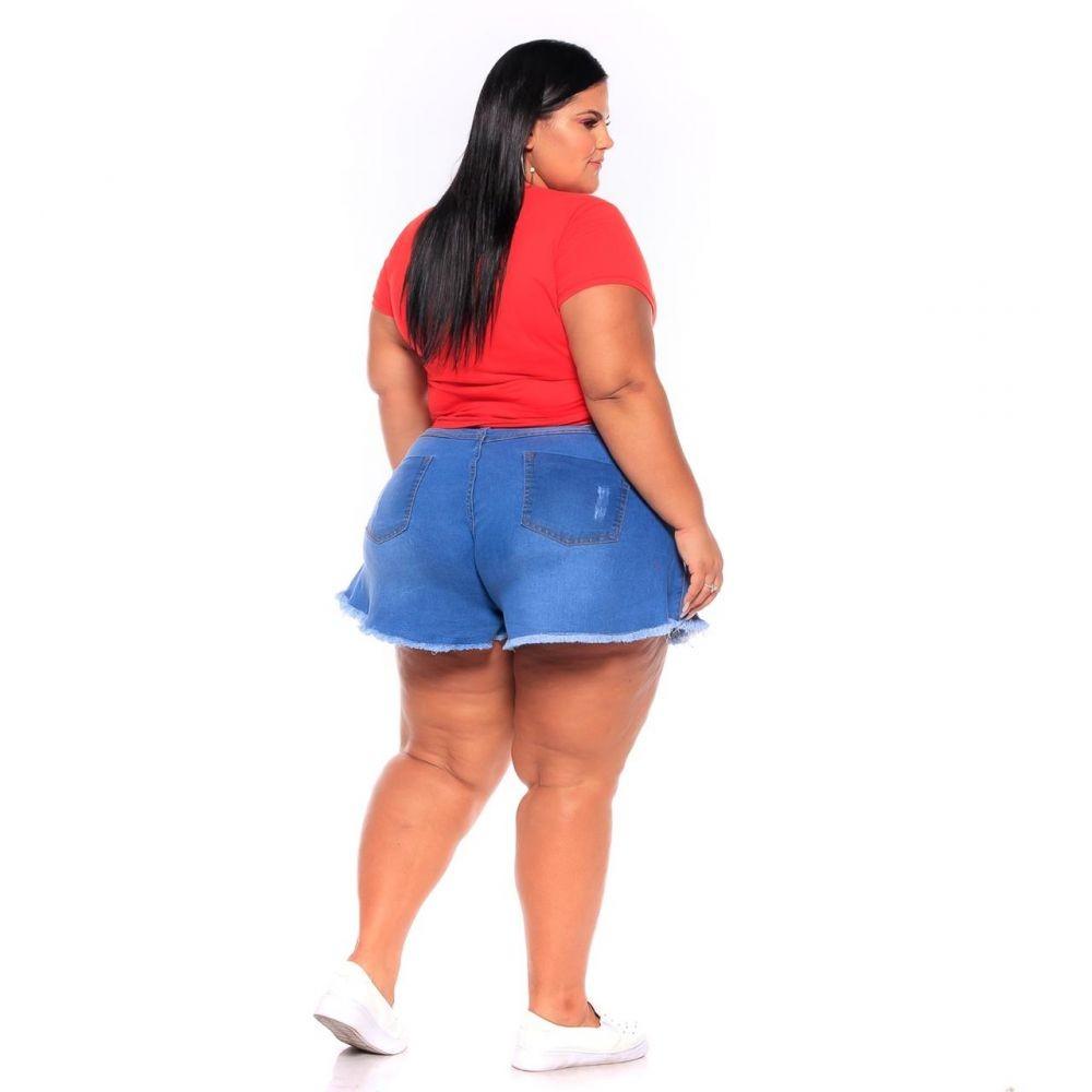 Short Jeans Godê Lavagem Clara