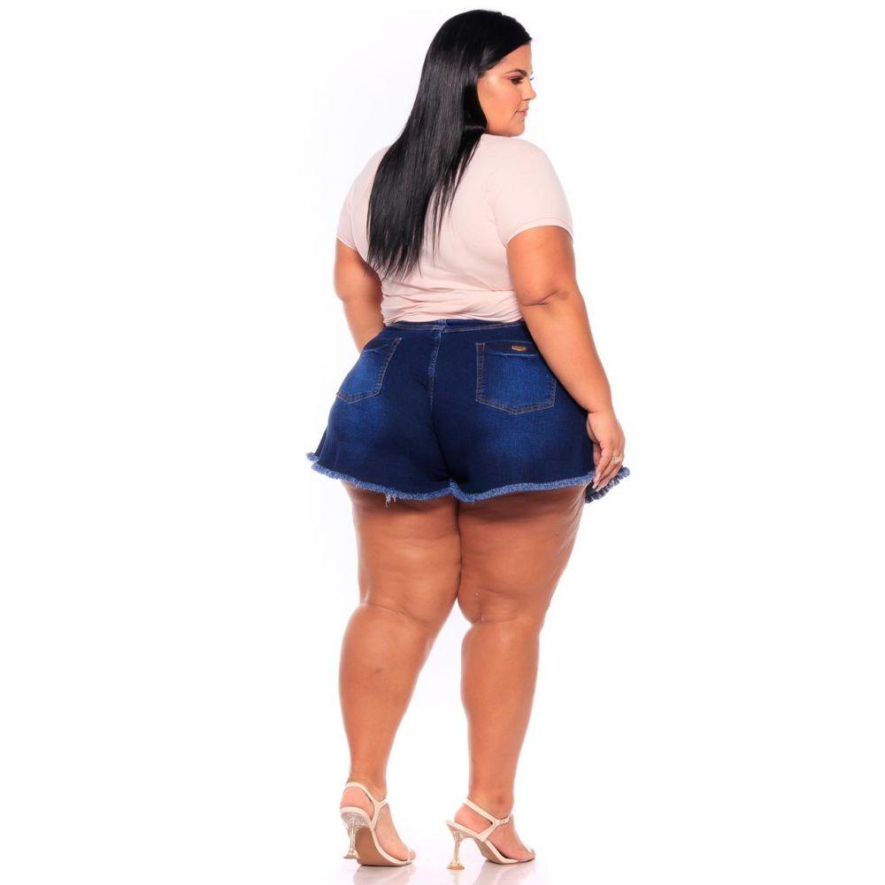 Short Jeans Godê Lavagem Escura
