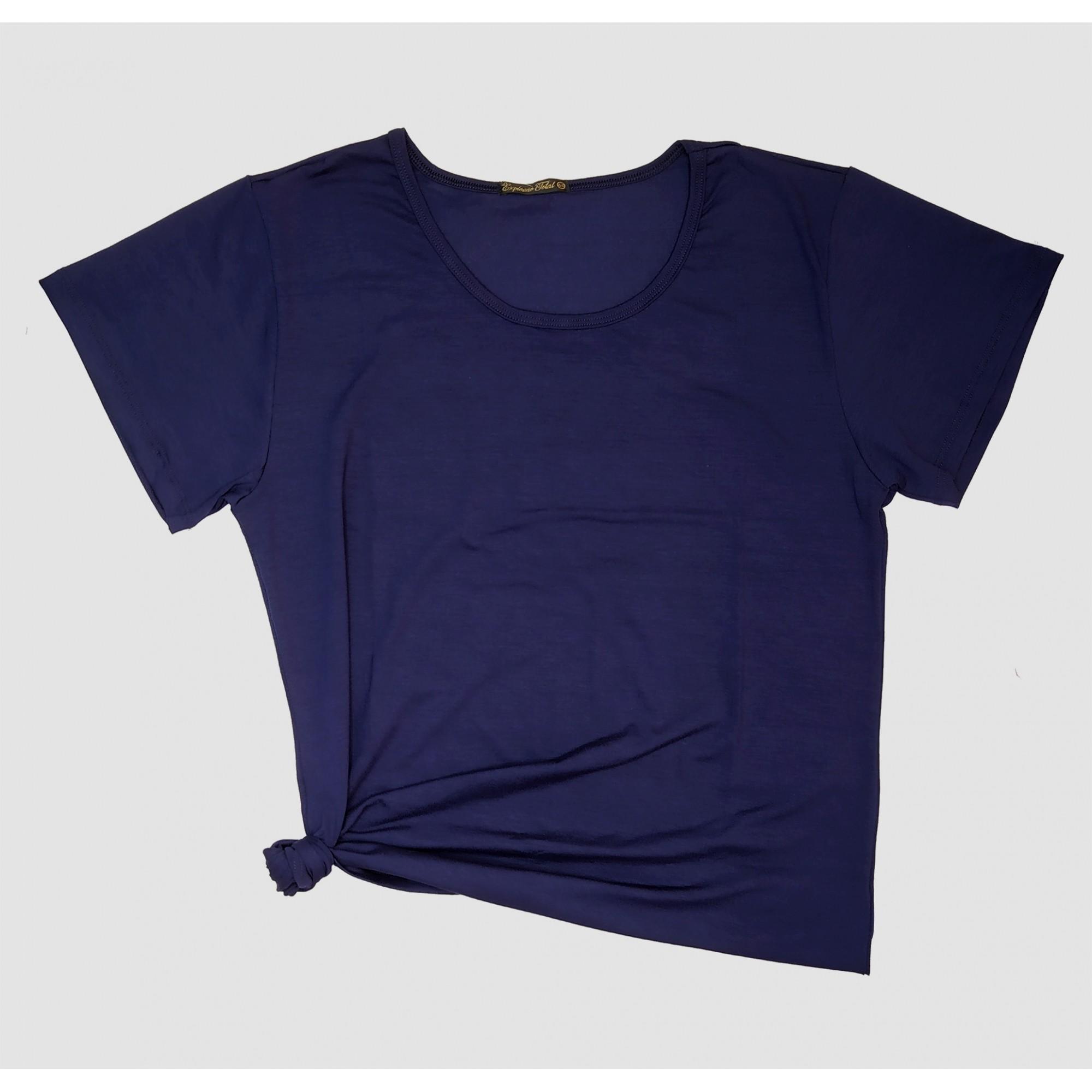 T-shirt Básica Gola Redonda