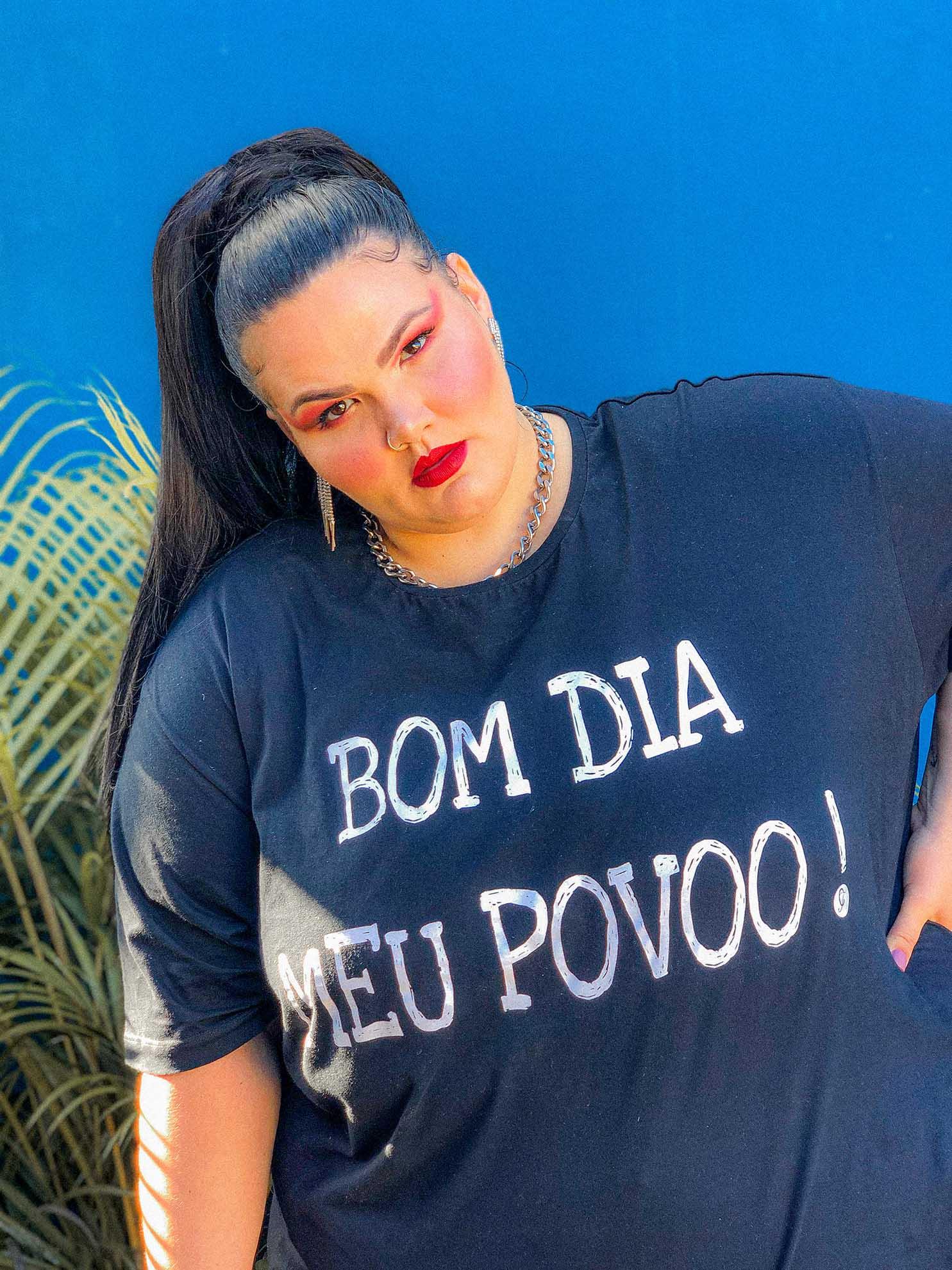 T-Shirt Thais Carla - Bom Dia Meu Povo