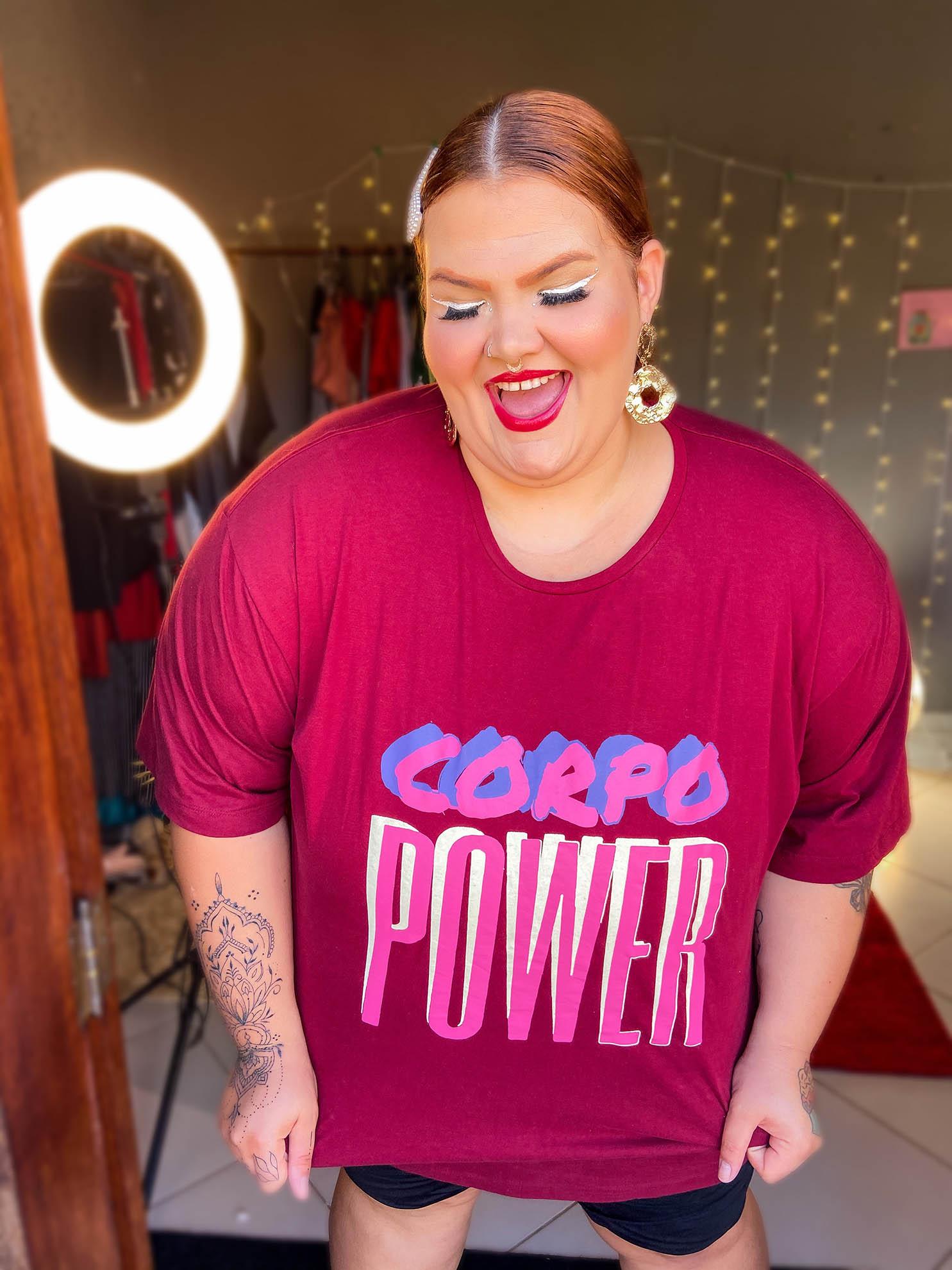 T-Shirt Thais Carla - Corpo Power
