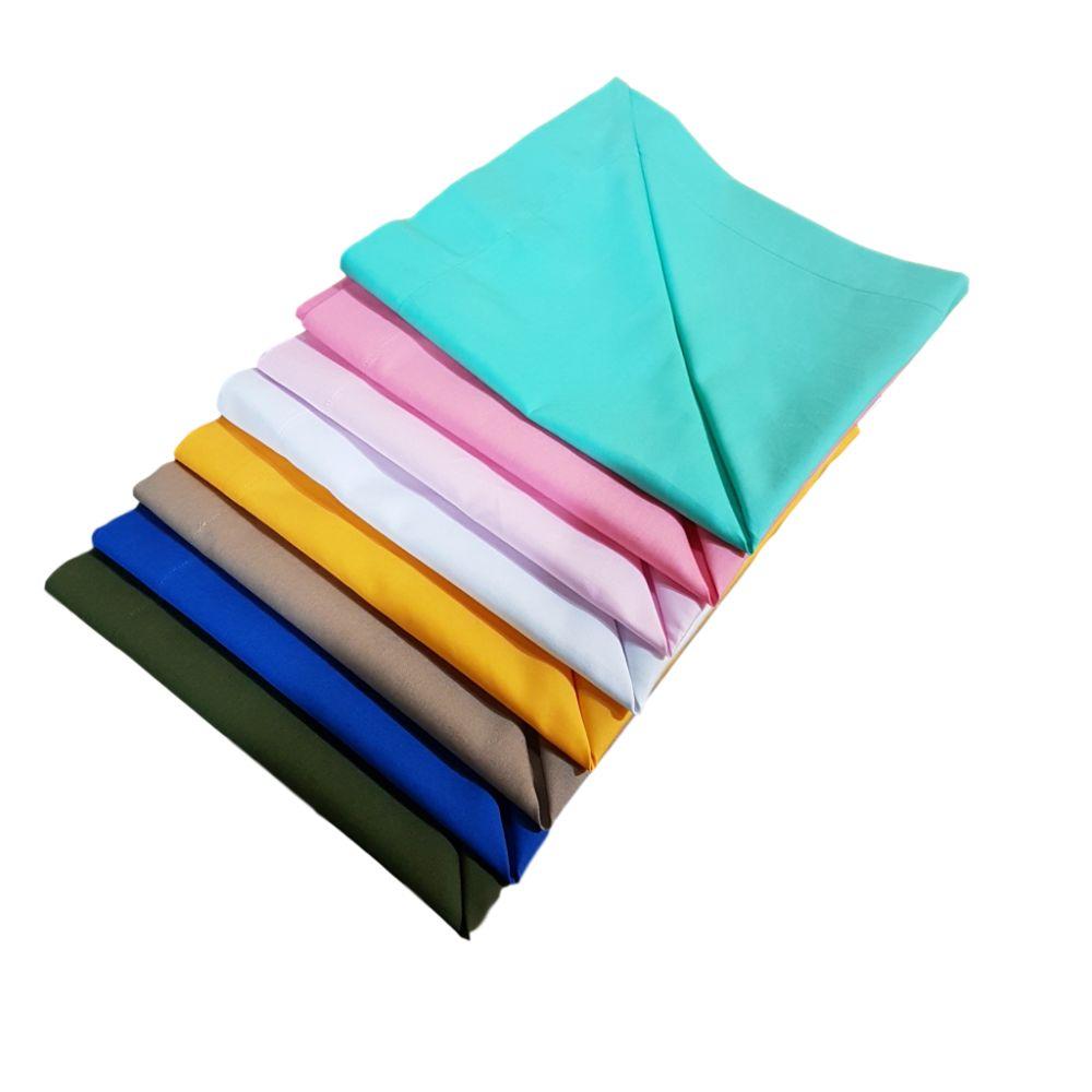 Guardanapo Diversas Cores em tricoline 100% algodão II