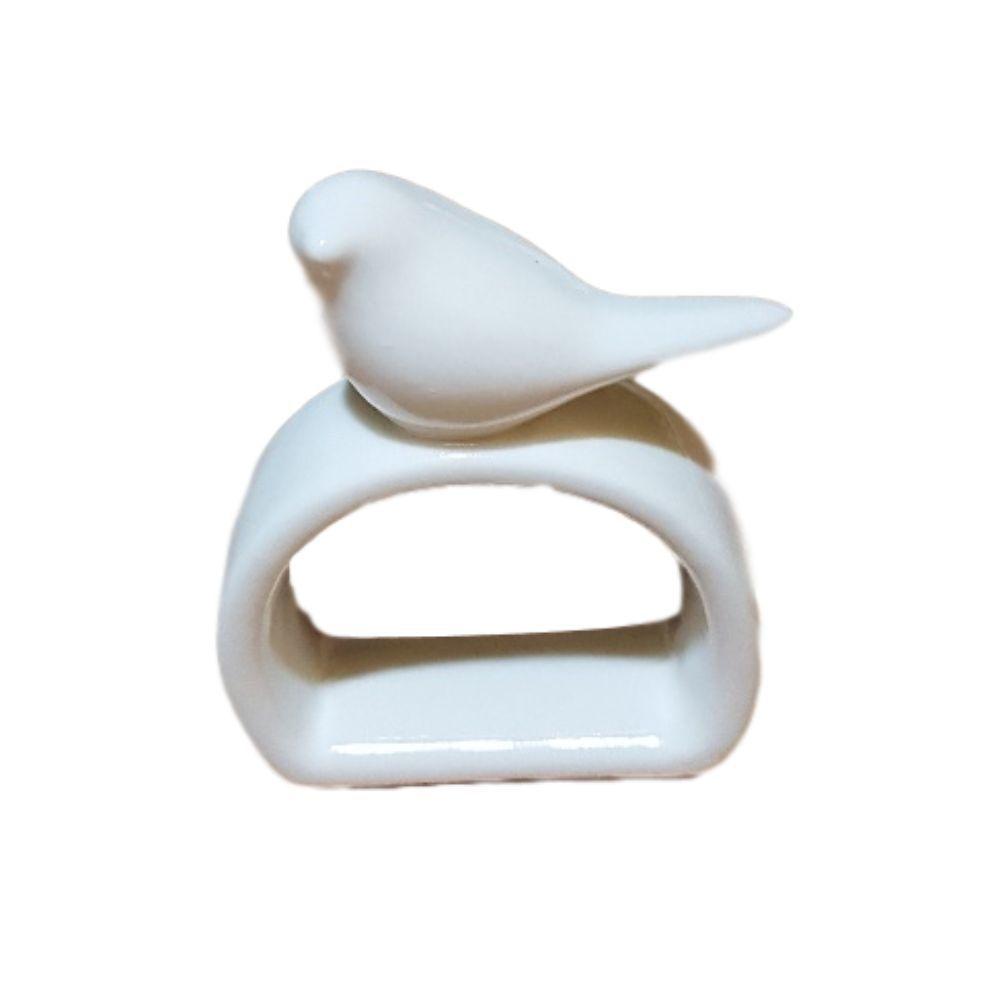 Kit Porta Guardanapo de Porcelana - 60 Pçs