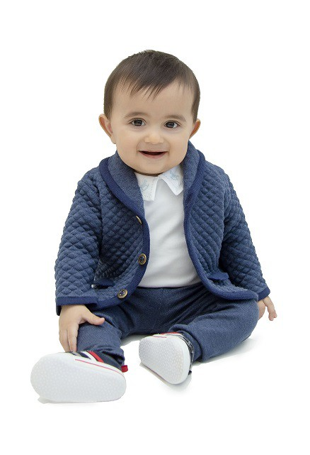 Blazer Tricot Bebê Menino Ralph