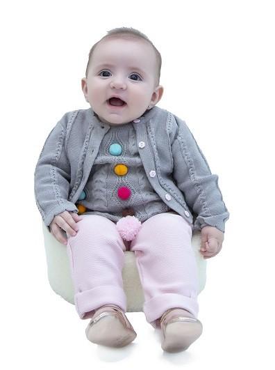 Blusa Tricot Bebê Menina Naomi