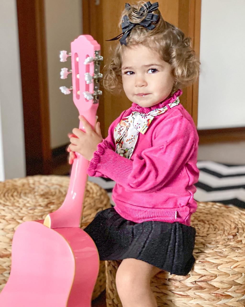 Blusa Tricot Infantil Alice