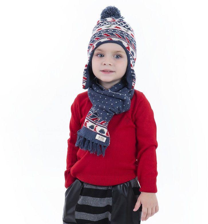 Blusa Tricot Infantil Menino João
