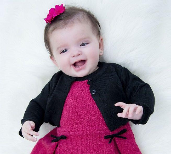 Bolero Tricot Bebê Miss