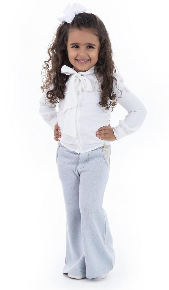 Camisa Tricot Infantil Menina Charlotte