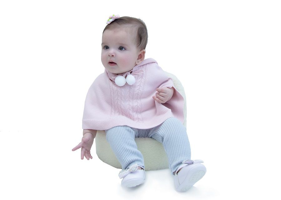 Capa Tricot Infantil Ariana Baby