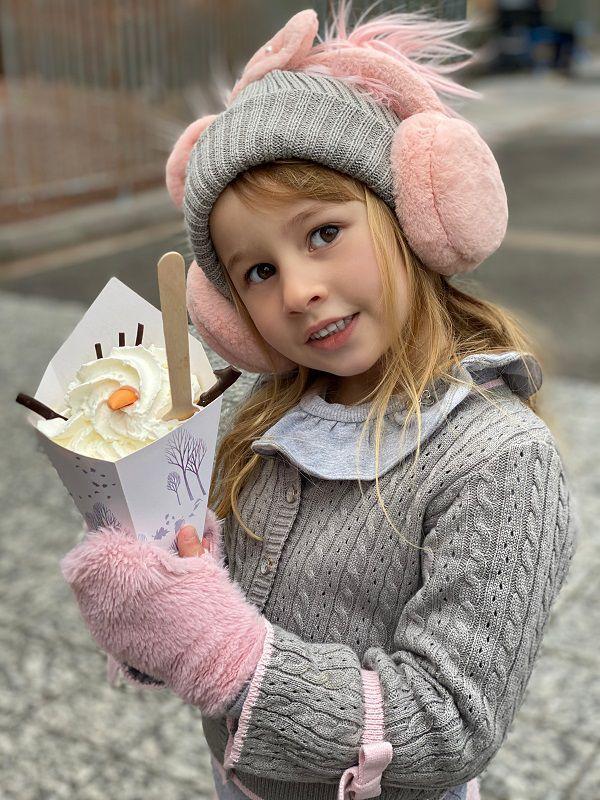 Casaco Tricot Infantil Menina Eva