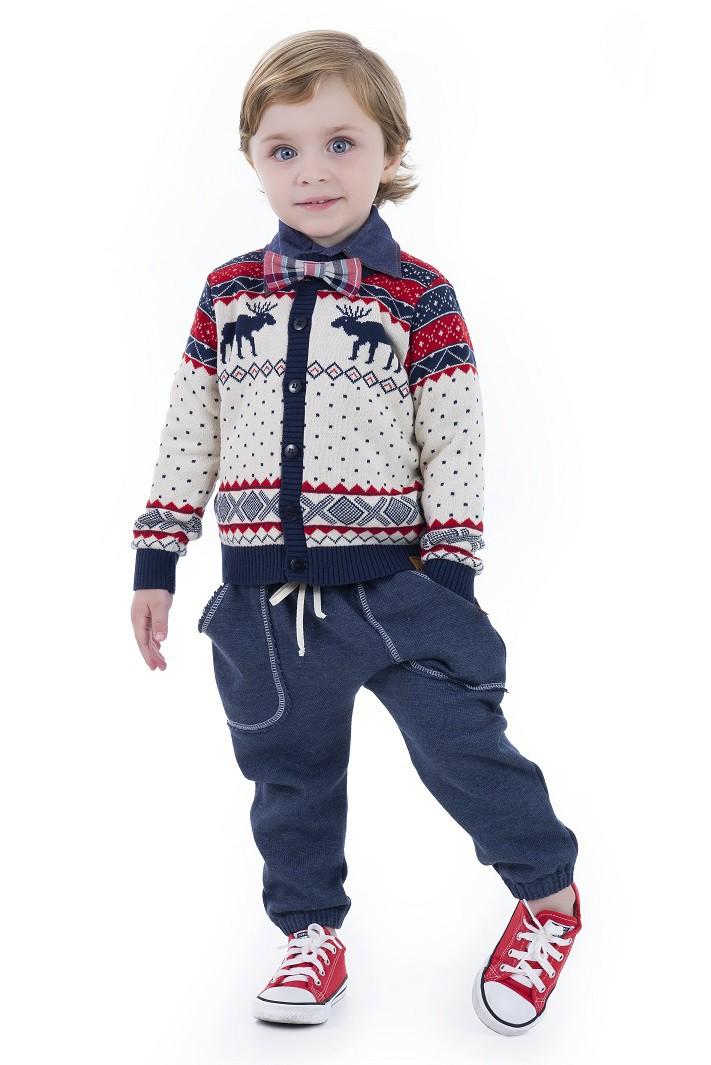Casaco Tricot Infantil Menino Richard
