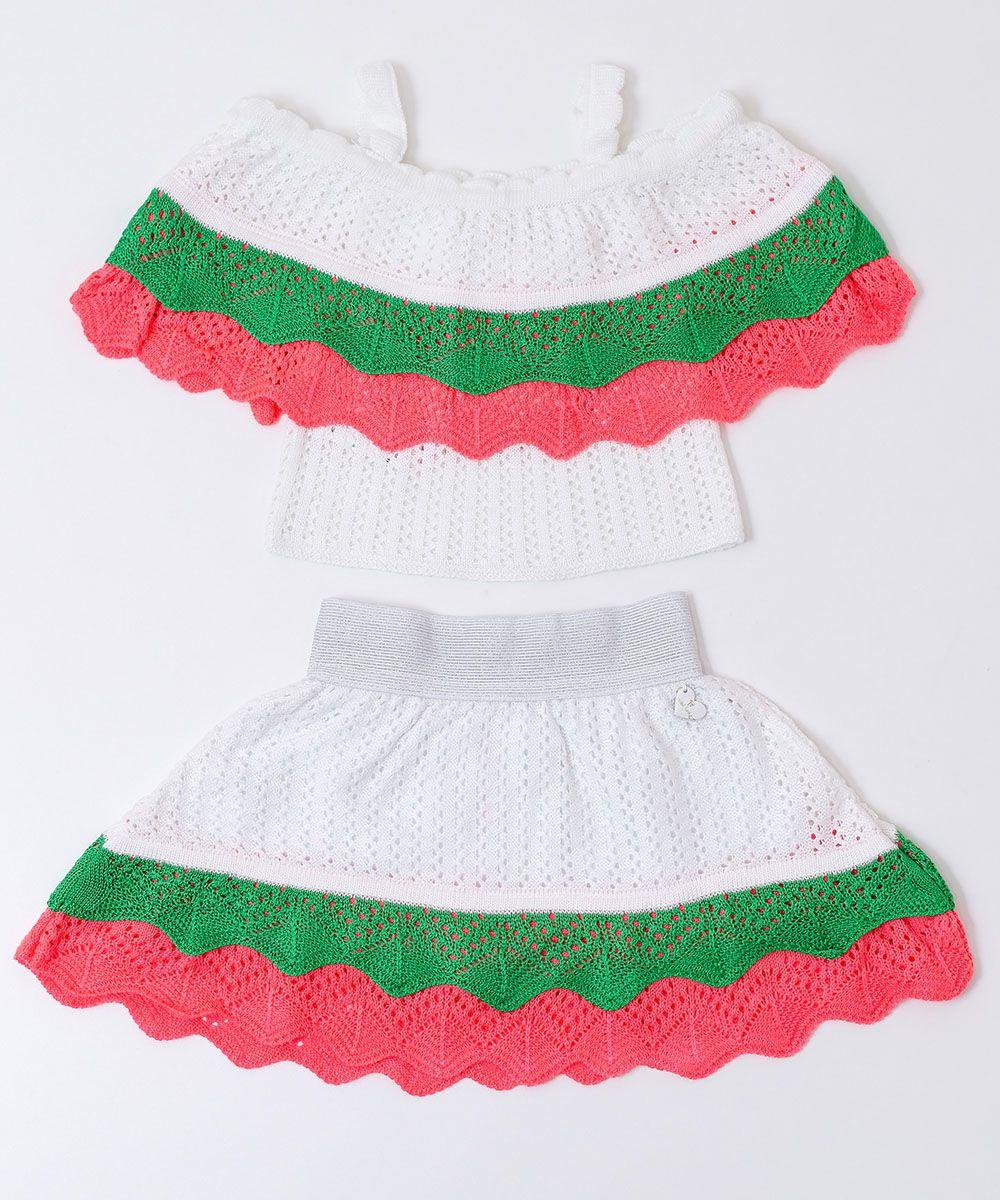 Conjunto Tricot Infantil Menina Florinda