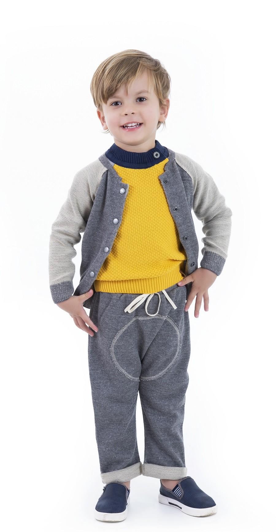 Conjunto Tricot Infantil Menino Jimmy