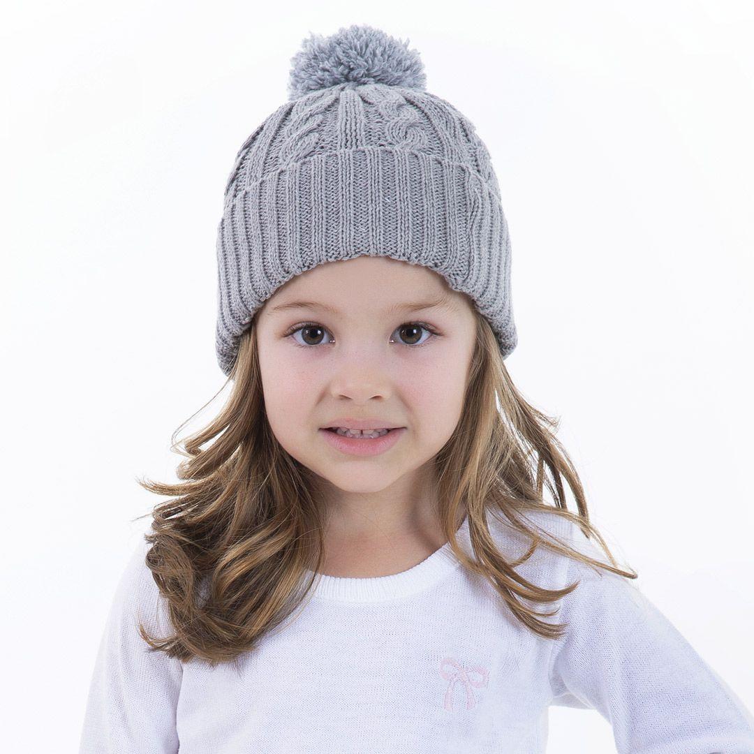 Gorro de Tricot Infantil Anastácia