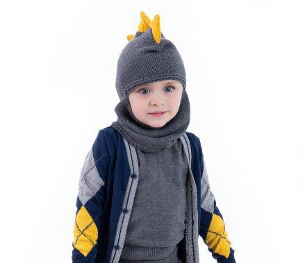 Gorro Tricot Infantil Menino David