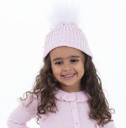 Gorro Tricot Infantil Menina Briana