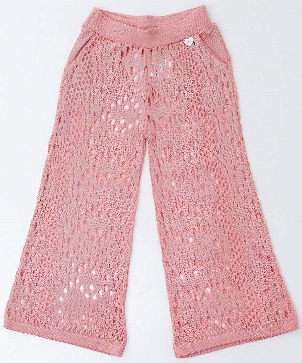 Pantalona Tricot Infantil Menina Poliana