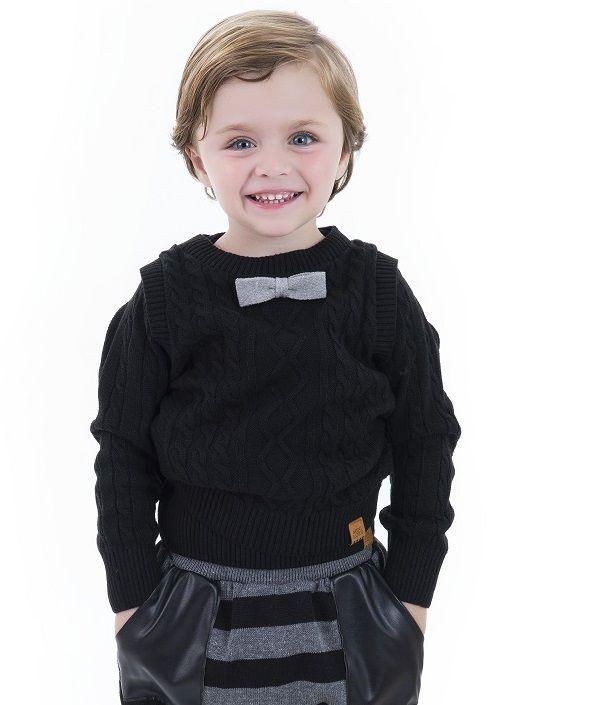 Pullover Tricot Infantil Menino Cícero