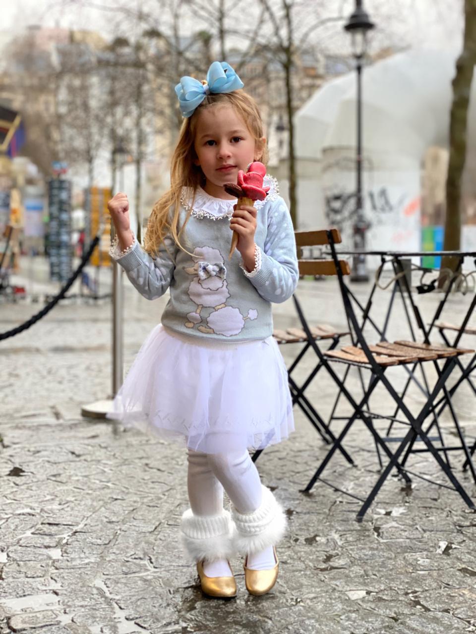 Sweater Tricot Infantil Menina Penélope