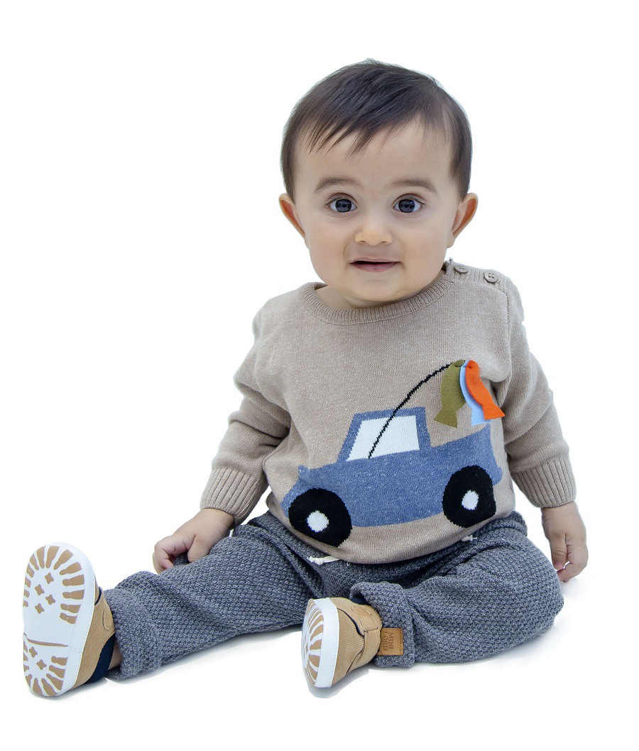Sweater Tricot Bebê Adriel