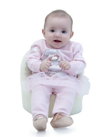Sweater Tricot Bebê Penelope