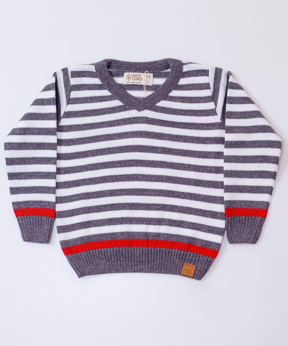 Sweater Tricot Infantil Menino Alvin