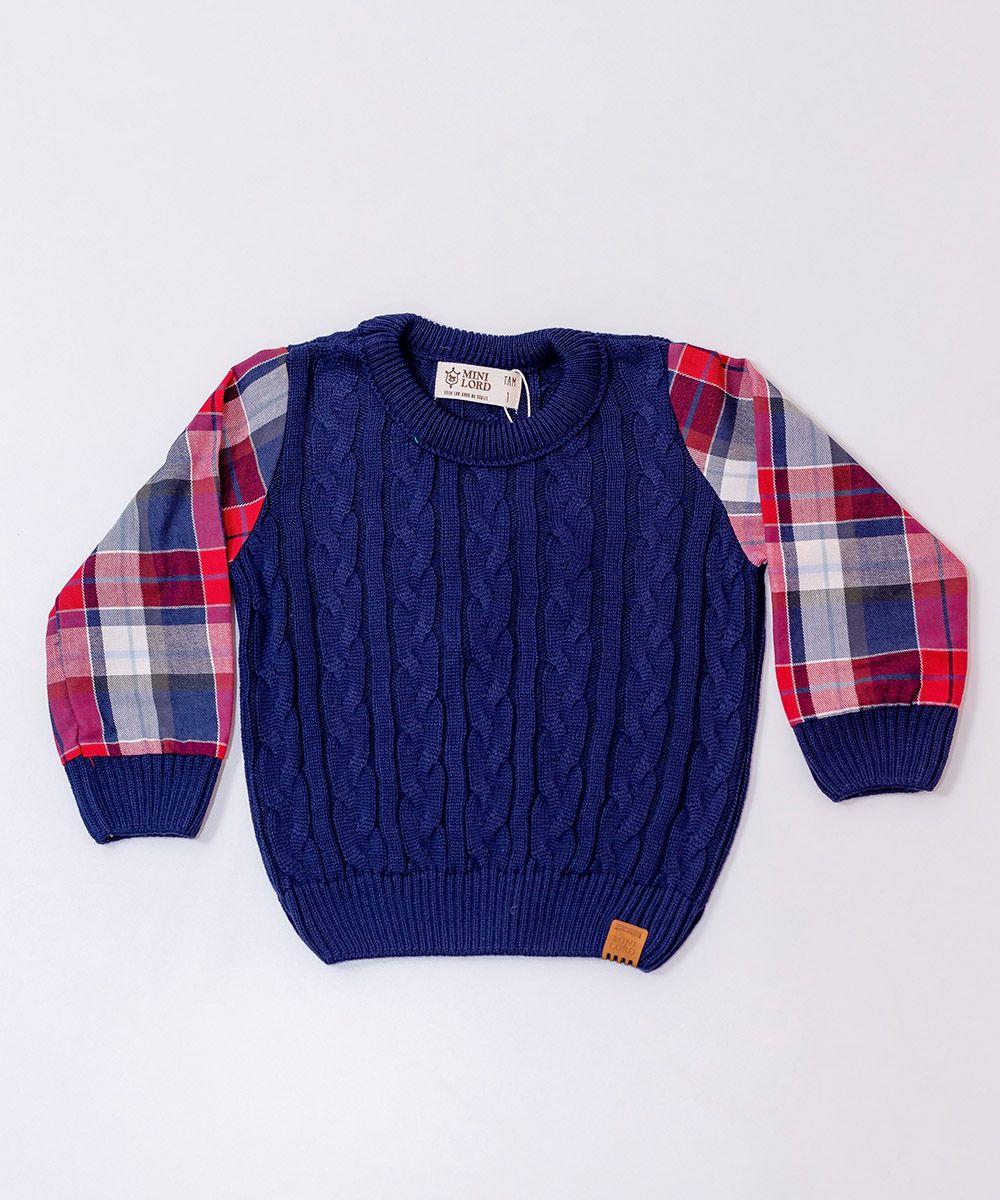 Sweater Tricot Infantil Menino Felix